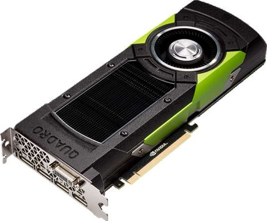 NVIDIA Quadro M6000 Video Card, 3072 CUDA Cores, 24 GB GDDR5, 384 bit, PCI  Express 3 0 x16, SLI, HDC