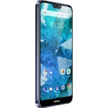 Nokia 7.1 Dual Sim, Mobile Phone, 64GB, 4G LTE - Gloss Midnight Blue | N18881040A