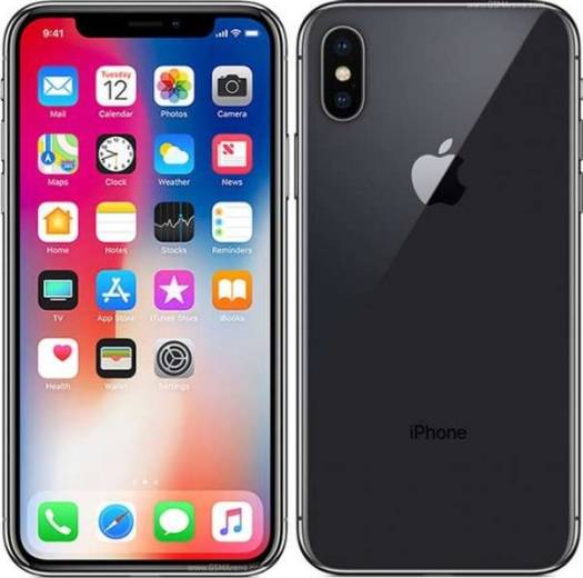 Apple iPhone X 256GB Mobile Phone Grey