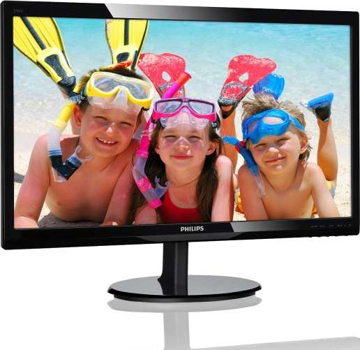 Philips 243V5LS 24 Inch Full HD Led Display Monitor