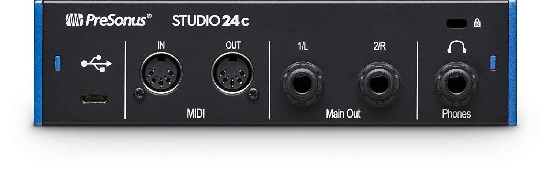presonus studio 24c 2x2 192 khz usb c audio interface studio 24c buy best price in uae. Black Bedroom Furniture Sets. Home Design Ideas