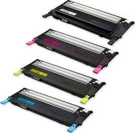 NEW Samsung CLT-P406C Toner Cartridge VALUE PACK Cyan Magenta Yellow Black Print