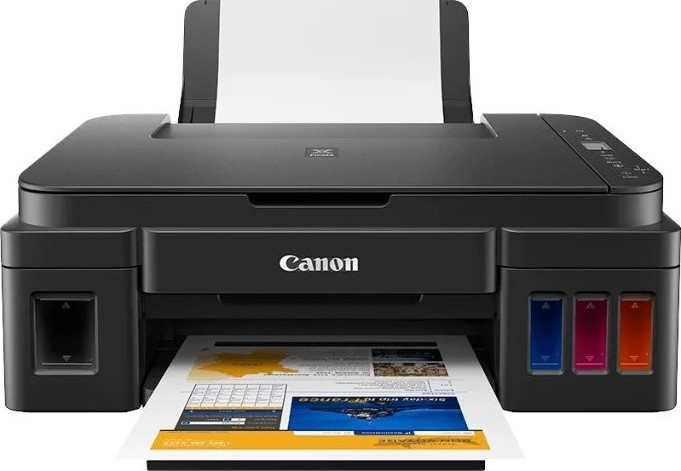 Canon PIXMA G3411 Printer, All In One home office inkjet printer with  refillable ink tanks, A4, prin