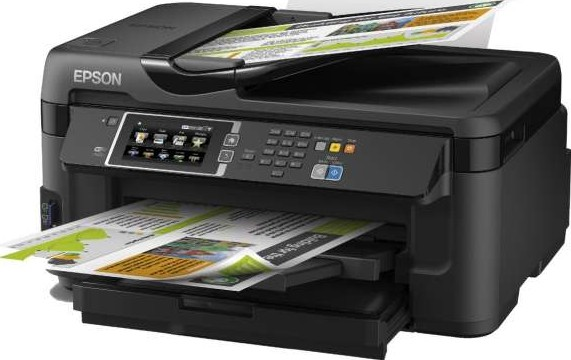 Epson WorkForce WF-7610DWF A3 Duplex Business Printer With Wi-Fi, Ethernet  And A3 Double-Sided Printing (Print/Scan/Copy/Fax) | WF-7610DWF