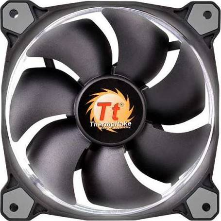 Thermaltake Riing 12 LED Radiator Fan/Fan/12025/1500rpm/LED White | CL-F038-PL12WT-A