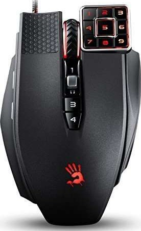 A4Tech Bloody ML160 Commander Laser Gaming Mouse Advanced weapon tuning  macro setting 8200CPI, In