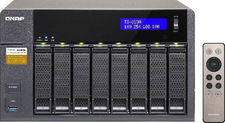 QNAP QTS Linux Combo NAS a well rounded private cloud solution centralizing  storage and IoT applica