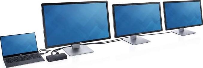 Dell USB 3 0 Triple Display UltraHD Universal Dock D3100
