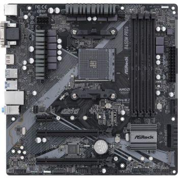 ASRock B450M PRO4 R2.0 - Chipset AMD Promontory B450 - Max. 128GB DDR4, 4×288pin Slot, PCIe 3.0, SATA 6Gb/s Micro ATX AMD Motherboard | 90-MXBEG0-A0UAYZ