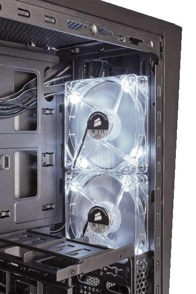 timeless design b7d9d b477a Corsair Carbide Series SPEC ALPHA Mid Tower Gaming Case Black Silver CC  9011084 WW