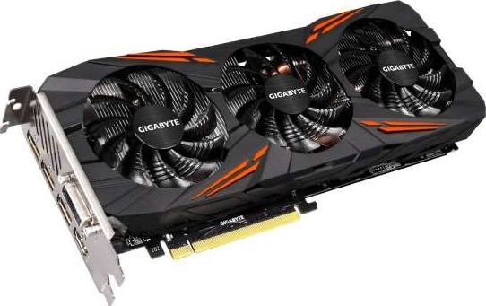 Gigabyte NVIDIA Geforce GTX 1070 G1 Gaming 8 GB GDDR5 Memory Windforce 3  Fan PCI Express 3 Graphics