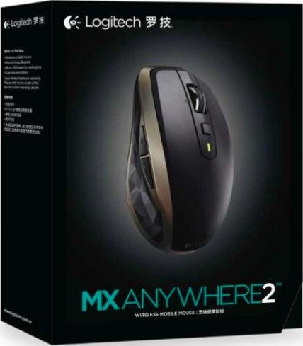 Logitech MX Anywhere 2 Wireless Mobile Mouse 2 4GHZ 910 004374