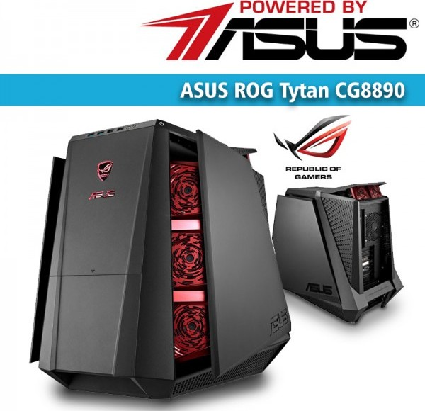 ASUS ROG Tytan CG8890 Ultimate Gaming Desktop - with 27 PBA Buy ... 47687473090c