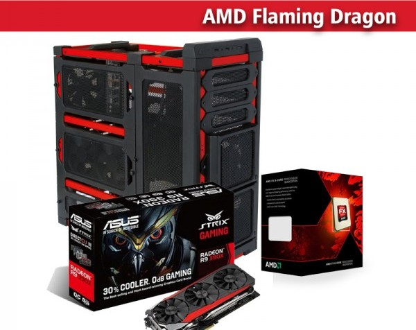 AMD Flaming Dragon (gaming pc) Buy, Best Price in UAE, Dubai, Abu ... d7076d24025a