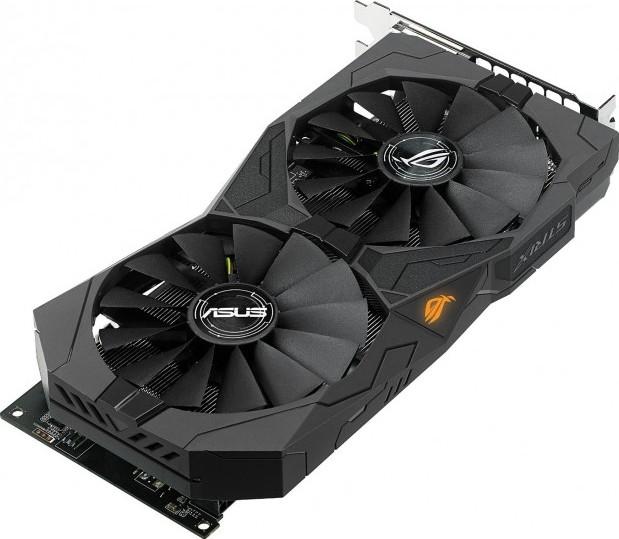 ASUS ROG STRIX Radeon Rx 470 4GB OC Edition AMD Graphics Card with DP 1 4  HDMI 2 0 STRIX RX470 O4G