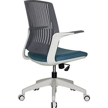 Navodesk Basic Chair, Ergonomic Desk Chair, Office & Computer Chair For Home & Office - Steel Blue | BASIC-STB