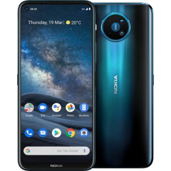 Nokia 8.3 Dual SIM Mobile Phone, 8GB RAM, 128GB, 5G LTE - Blue   N41364437A