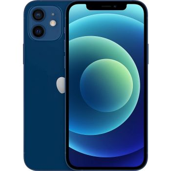 Apple iPhone 12 With Facetime Dual Sim 128GB 5G, HK Specs - Blue