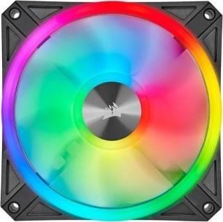 Corsair QL Series, Ql120 RGB, 120mm RGB LED Fan, Single Pack   CO-9050097-WW