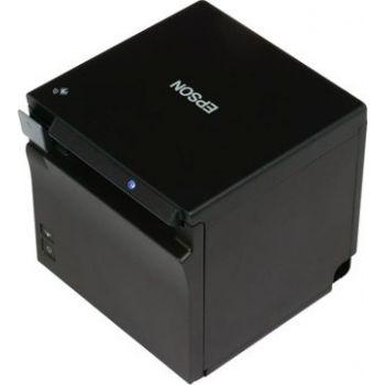Epson TM-M30II (112A0) - USB + ETHERNET + NES + BT, Black, PS, UK Compact mPOS Receipt Printer   TM-M30II