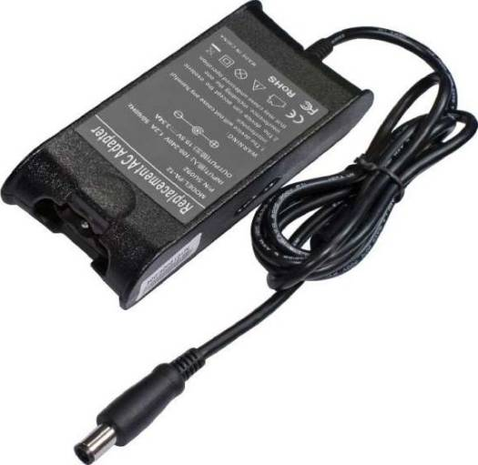 Replacement AC Adapter 19.5V 3.34A  For DELL (Big Pin)