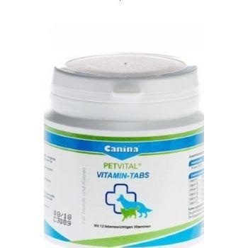 Canina Petvital Vitamin-Tabs, 100g, 50 Tablets   2170960011