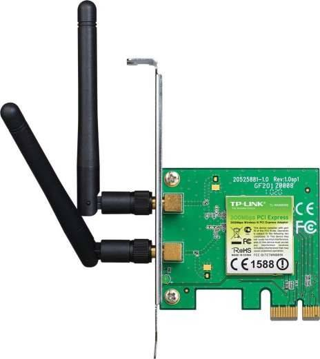 TP LINK TL WN881ND  Wireless  N PCI Express  Adapter | TL-WN881ND