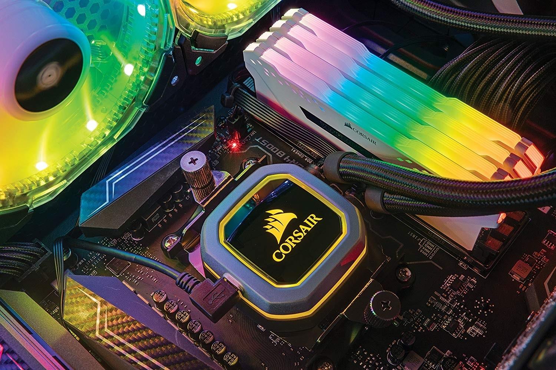 Corsair Vengeance RGB PRO 16GB (2 X 8GB) DDR4 DRAM 3200MHz C16 Desktop  Memory Kit — White | CMW16GX4M2C3200C16W