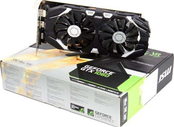 MSI GeForce GTX 1060 6GT OC PCI Express x16 3 0 1759 MHz 1544 MHz 6GB GDDR5  192 bit 912 V328 0