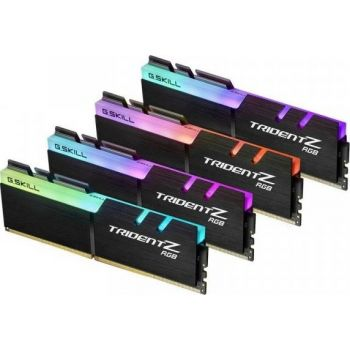 G.Skill Trident Z RGB 32GB (4x8GB) DDR4-4000MHz CL18-22-22-42 1.35V Desktop Memory  | F4-4000C18Q-32GTZRB