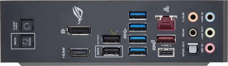 ASUS ROG MAXIMUS X HERO Intel Z370 ATX Gaming Motherboard with Aura Sync  RGB LEDs,DDR4 4133MHz, dual