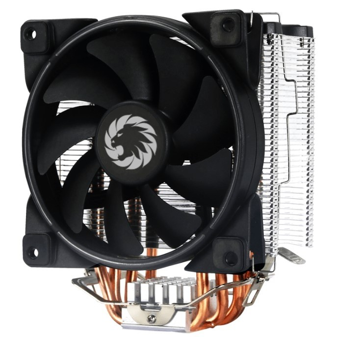 GameMax GAMAA 500 RGB CPU cooler, Synchronized RGB aluminum housing,  Software Control via Controlle