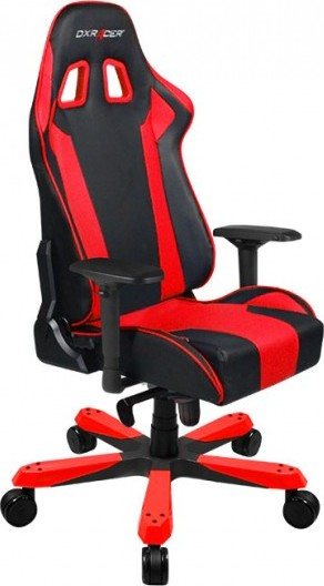 Dxracer King Series Gaming Chair Black Amp Red Oh Ks06 Nr