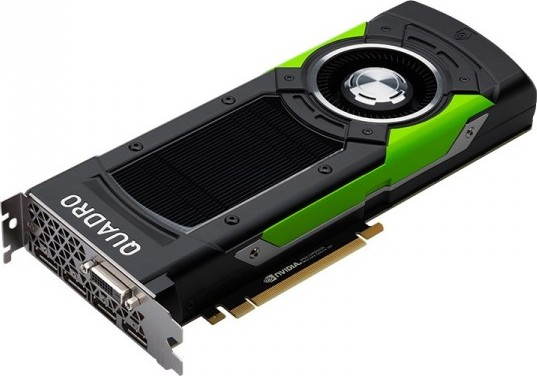 PNY Nvidia Quadro P6000 Video Card, 24 GB GDDR5X, 384 bit, SLI , HDCP 2 2  and HDMI 1 3a support, PC