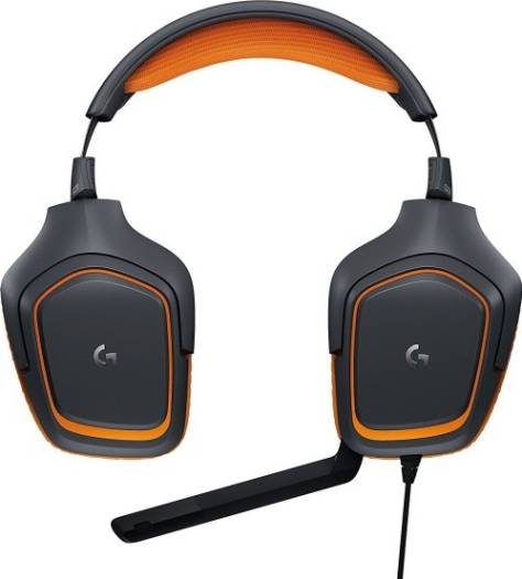 Logitech G231 Prodigy Stereo Gaming Headset with Microphone for Game Consoles, PCs, Tablets, Smartphones | 981-000625 / 981-000627