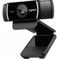 Logitech C922 Pro Stream Full HD Webcam with Mic and Adjustable Tripod - Black | 	960-001088