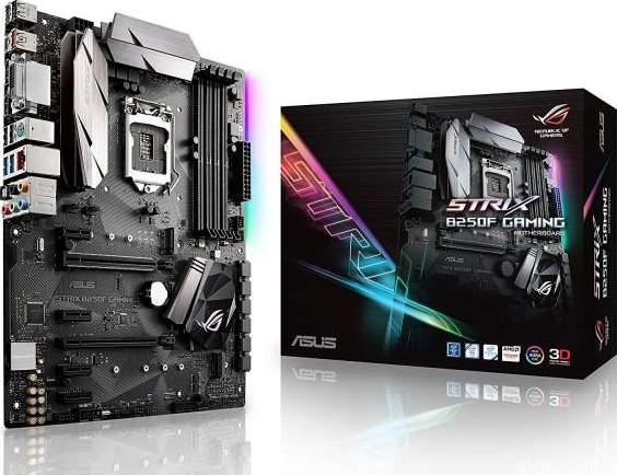 Asus ROG Strix B250F Gaming LGA1151 DDR4 DP HDMI DVI M.2 ATX Motherbo