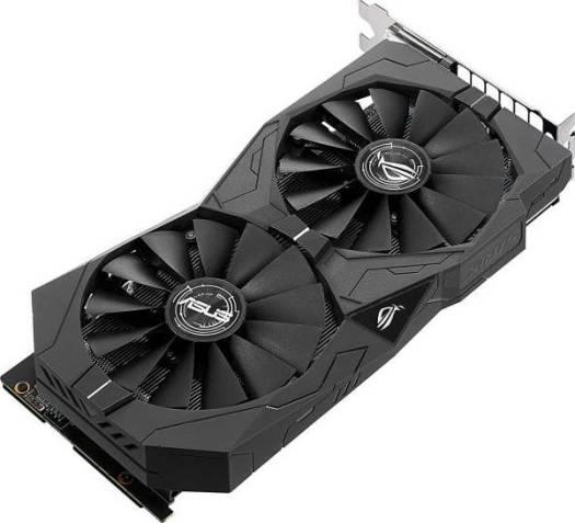ASUS Geforce GTX 1050 Ti 4GB ROG STRIX OC HDMI 2.0 DP 1.4 Gaming Graphics Card | 90YV0A30-M0NA00