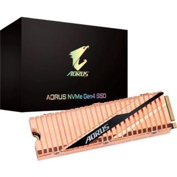 Gigabyte Aorus NVMe Gen4 SSD 2TB M.2 2280 PCI-Express 4.0 x4 3D TLC Internal Solid State Drive (SSD) Dual Side Copper   GP-ASM2NE6200TTTD