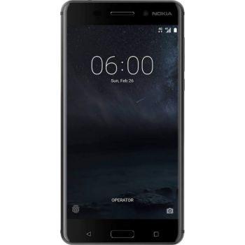 Nokia 6 TA-1021 - 13.97 cm (5.5 inch), 1920 x 1080 pixels, Internal Storage 32GB, RAM 3 GB, Expandable Storage 128GB, 16MP Rear Camera, 8MP Front, Dual Sim, Black   TA-1021