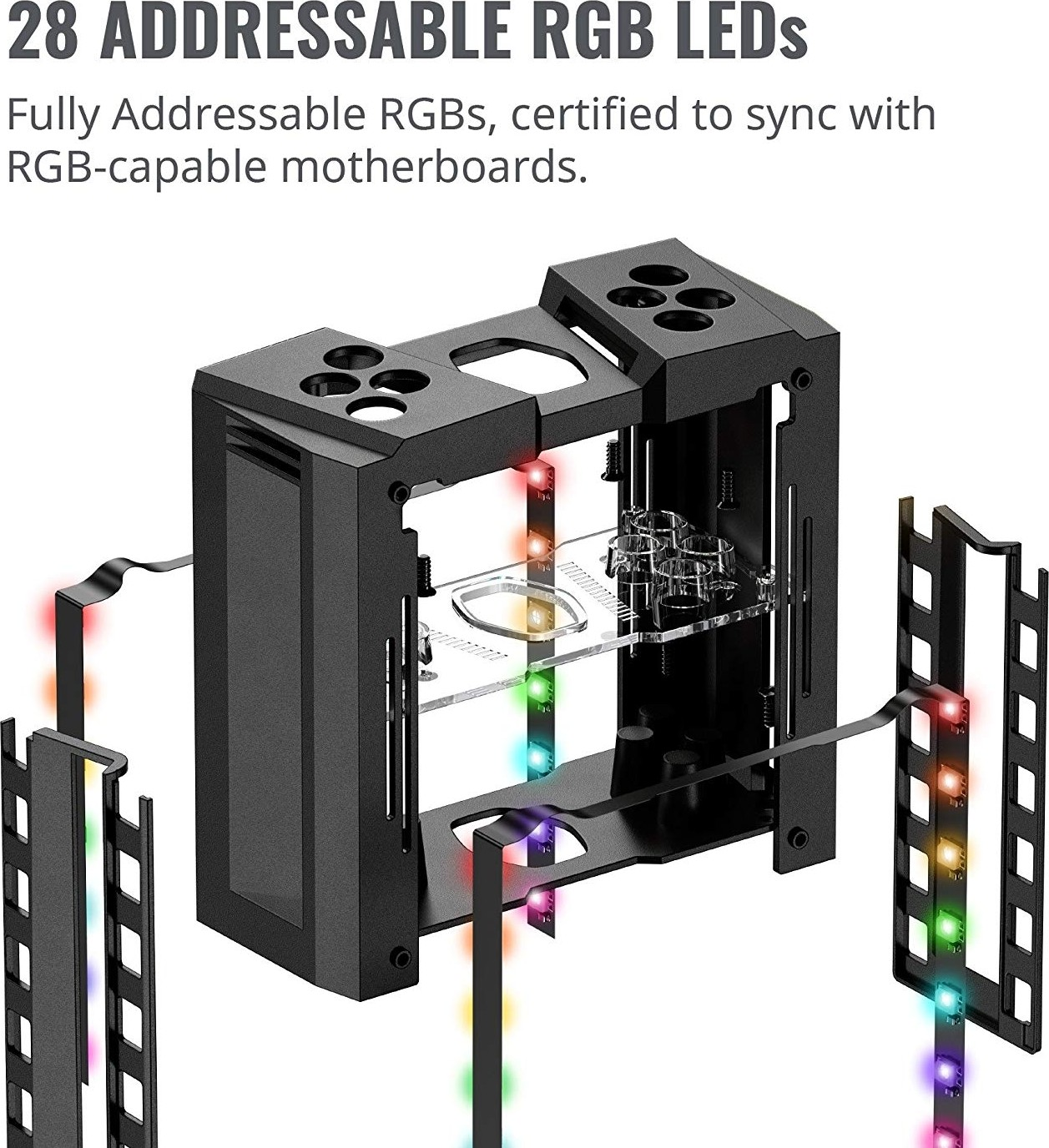 Cooler Master MasterAir MA410M 28 Addressable RGB LED Lighting CPU Air  Cooler 4 Heat pipes, Thermal