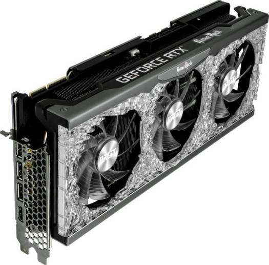 Palit GeForce RTX 3090 GameRock 24GB, GDDR6X, 384bit, PCI-Express 4.0, Nvidia GPU, Ampere Graphics Card | NED3090T19SB-1021G