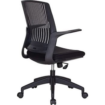 Navodesk Basic Chair, Ergonomic Desk Chair, Office & Computer Chair For Home & Office - Pure Black   BASIC-PBLK