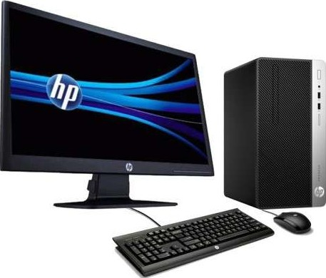 HP Pro Desk 400 G4 Micro Tower Desktop PC Intel Core i5 7500, 4 GB DDR4,  500 GB HDD, Dos 1QM75ES
