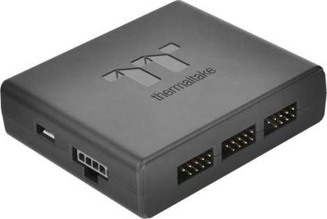 Thermaltake Riing Plus 12 RGB Tt Premium Edition 120mm Software Enabled  Case Radiator Fan Triple Pa