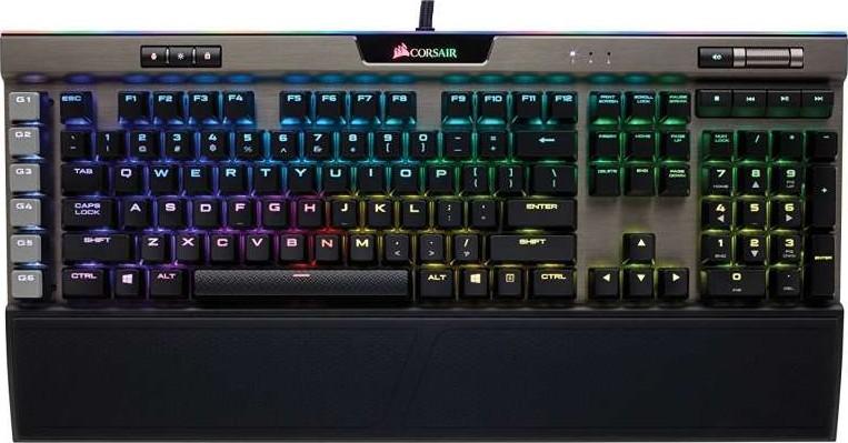 Corsair K95 RGB PLATINUM Mechanical Gaming Keyboard — Cherry MX Speed —  Gunmetal | CH-9127114-NA