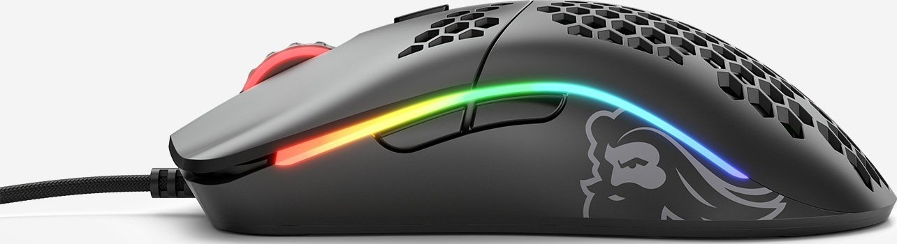 Glorious Model O The World s Lightest RGB Gaming Mouse 12,000 DPI, 6  Buttons, 67 Grams Matte Black