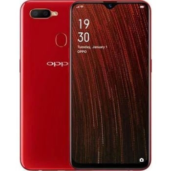 Renewed - Oppo A5s Dual SIM Mobile Phone, 3 GB RAM, 32 GB Storage - Red | 19131
