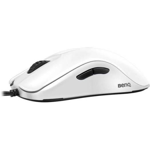 BenQ Zowie FK2 e-Sports Ambidextrous Optical Gaming Mouse (White) | 9H.N14BB.A3E