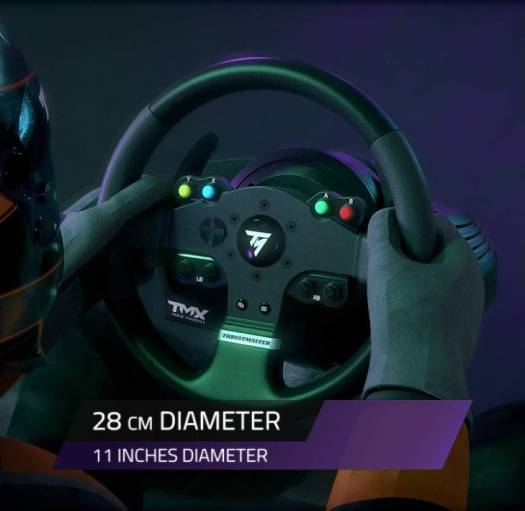 Thrustmaster TMX Force Feedback Racing Wheel for Xbox One and Windows - Black | TMX-FORCE-FEEDBACK
